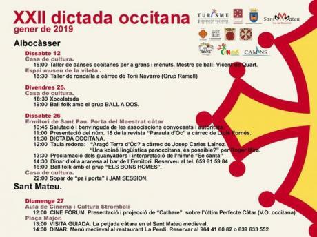XXII DICTADA OCCITANA