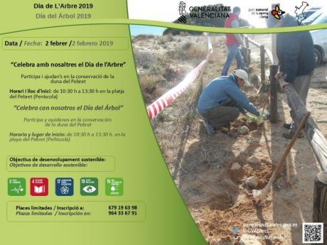 Dia del Arbol Peñiscola - Parque Natural Sierra de Irta