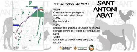 Festividad de San Antonio Abad en Castellón