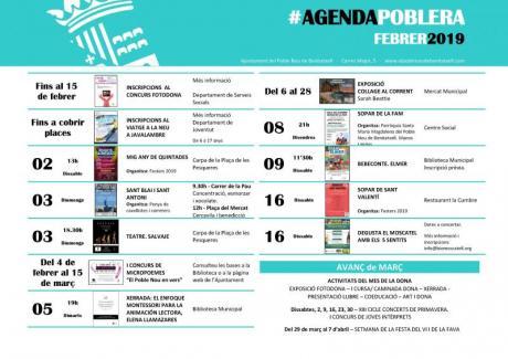 Agenda Febrero 2019