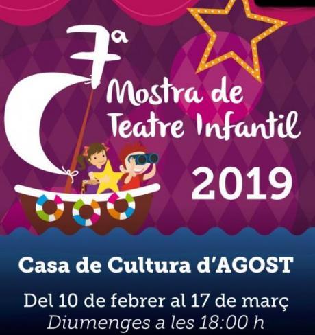 7ª Mostra de Teatre Infantil de Agost 2019