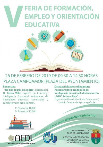 V Feria de Formación, Empleo y Orientación Educativa en Pilar de la Horadada