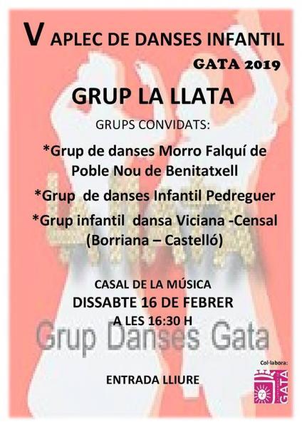 Encuentro de danzas Infantiles: Grup La Llata