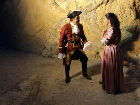 Visitas teatralizadas al Castillo de Santa Bárbara de Alicante