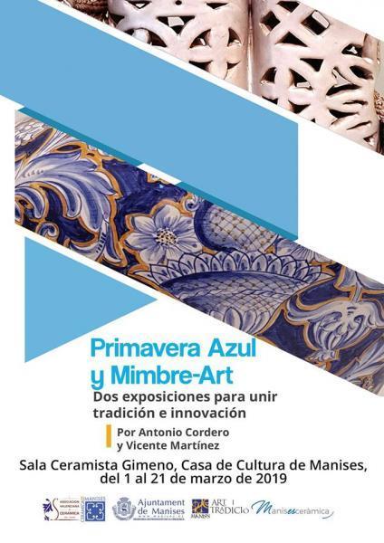 """Exposición """"Primavera Azul y Mimbre Art"""""""