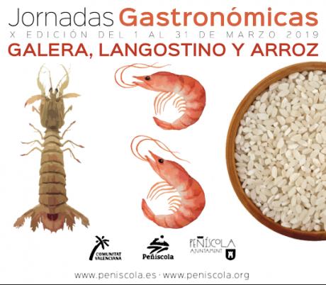 X Jornadas Gastronómicas del Arroz, la Galera y Langostino Peñíscola