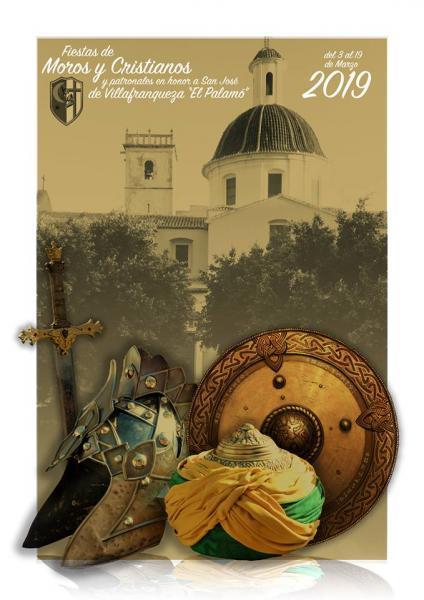 """Fiestas de Moros y Cristianos y patronales en honor a San José de Villafranqueza """"El Palamó"""" 2019"""