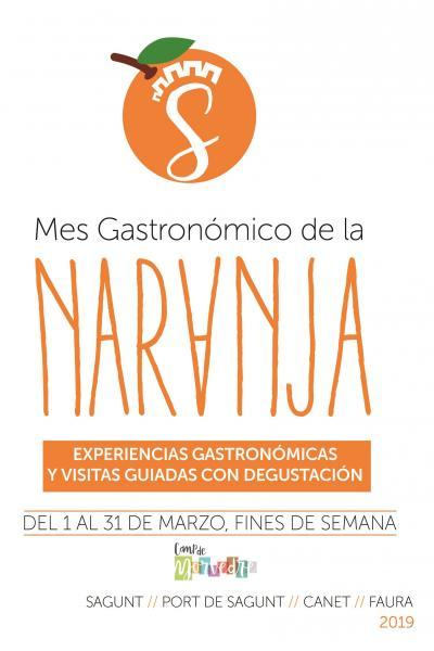 Mes Gastronómico de la Naranja