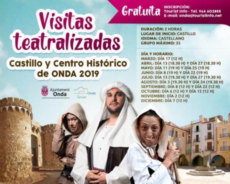 VISITAS TEATRALIZADAS EN ONDA 2019