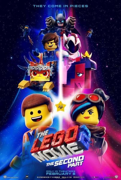 Cine animación: La Lego Película 2