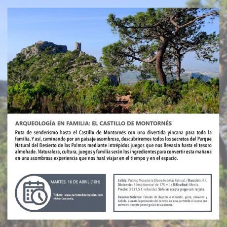 Visita guiada: El Castillo de Montornés