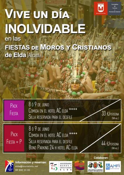 Pack Festero Moros y Cristianos Elda 2019