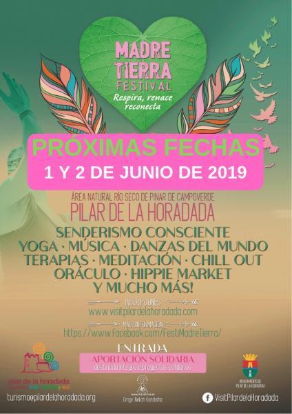 """Festival Madre Tierra """"Respira, renace, reconecta"""" 2019 en Pilar de la Horadada"""