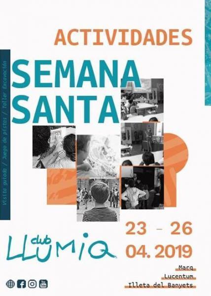 Actividades Semana Santa Club Llumiq en el MARQ 2019