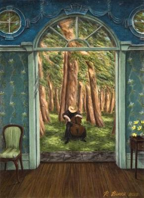 Exposición de pintura Peter Burke. Un mundo único