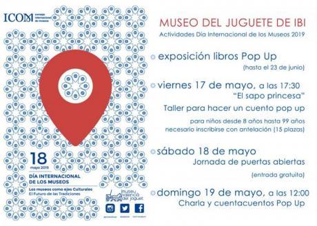 Día Internacional de los Museos en Ibi