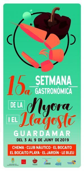 15ª Semana Gastronómica de la Ñora y el Langostino de Guardamar
