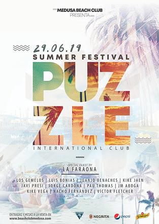 SUMMER FESTIVAL PUZZLE CULLERA