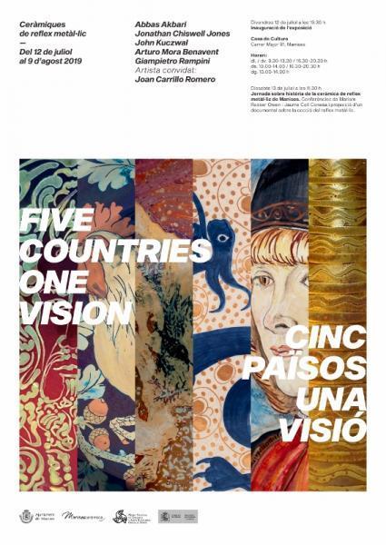 """Exposición """"5 countries, one vision - 5 países una visión"""" Manises 2019"""