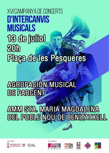 XVI Campaña de conciertos de intercambios musicales
