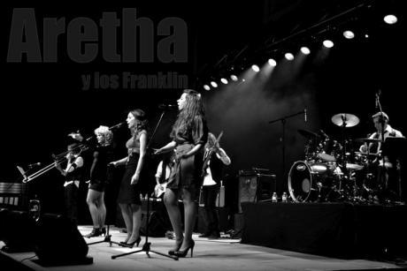 """ARETHA Y LOS FRANKLIN (JARANA BLUES) PRESENTA: """"DE VUELTA AL SOUL"""""""