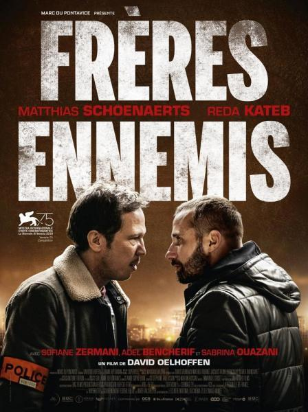 Cine: Enemigos íntimos (Frères Ennemis)