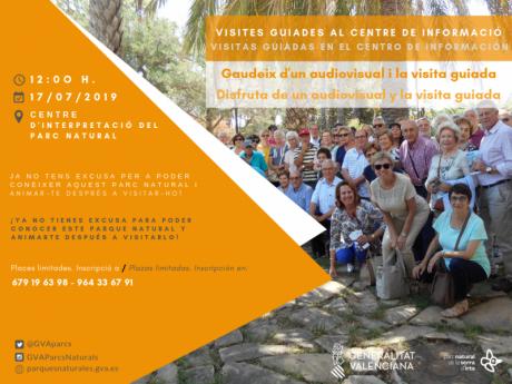 Visitas guiadas al Centro de Información del Parque Natural Sierra de Irta - Peñíscola