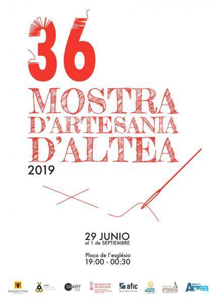 36 Mostra d'Artesania d'Altea 2019