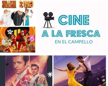 Cine de verano en El Campello