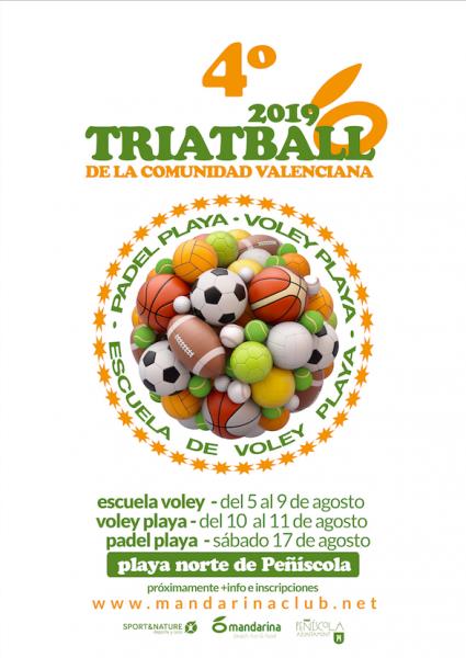 4º Triatball De La Comunitat Valenciana – Peñiscola