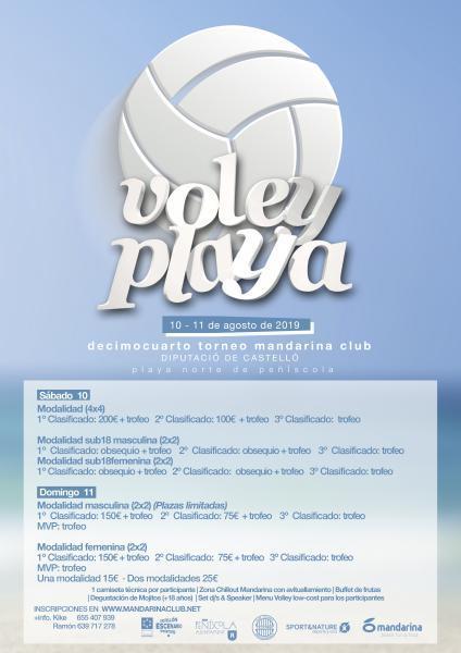 XIV Torneo de Voley Playa - Peñiscola
