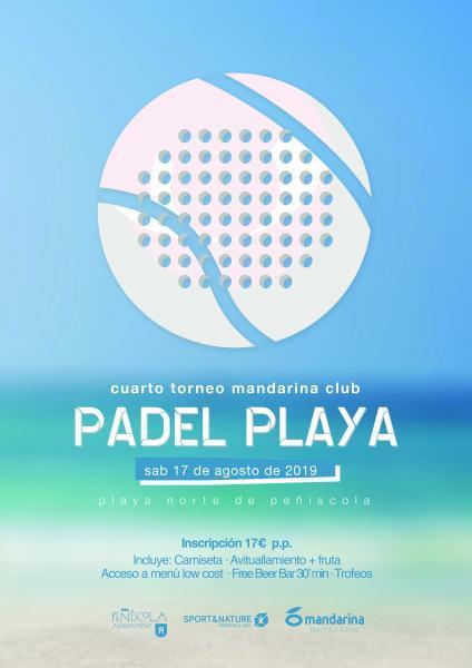 IV Torneo de Pádel Playa - Peñíscola