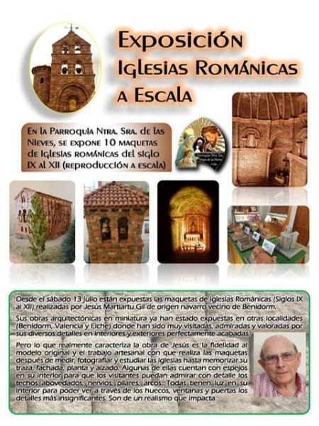 Exposición de Maquetas de Iglesias Románicas en Calp