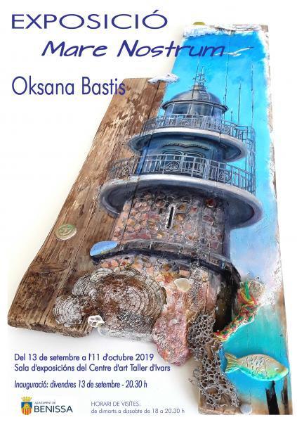 """Exposición """"Mare Nostrum"""" d'Oksana Bastis"""