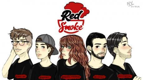 Música: Arte Pop-Red Smoke