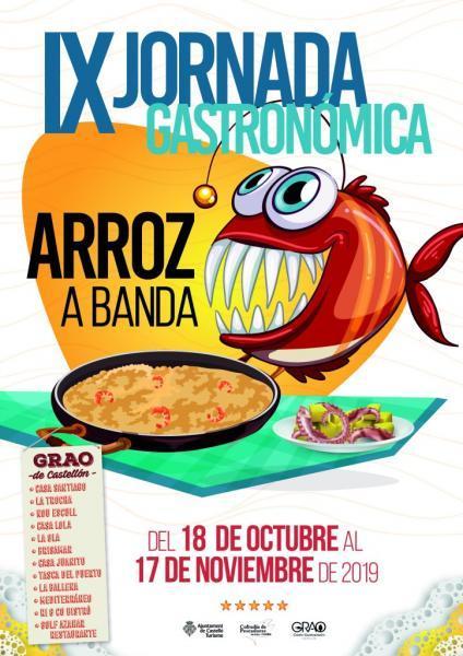 IX Jornadas Gastronómicas del Arroz a Banda Grao de Castellón