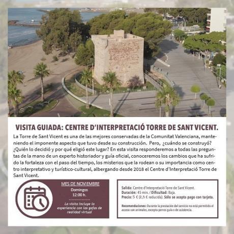 Visita guiada: Centre d'interpretació Torre de Sant Vicent.