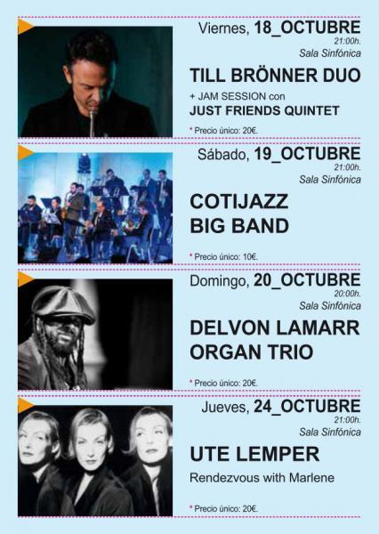 Torrevieja Suena a Jazz - Del 18 al 24 Octubre 2019