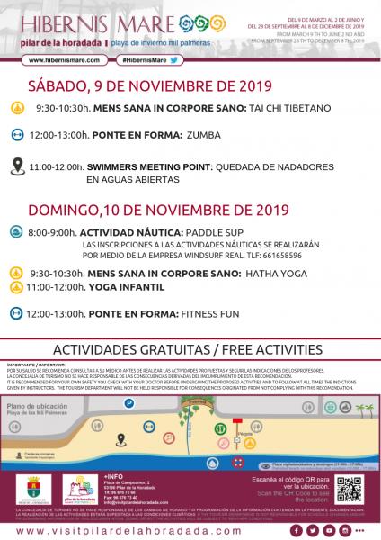 Hibernis Mare, tu playa de invierno en Pilar de la Horadada 2019
