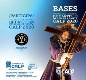 CONCURSO NACIONAL DE CARTELES DE SEMANA SANTA CALP 2020
