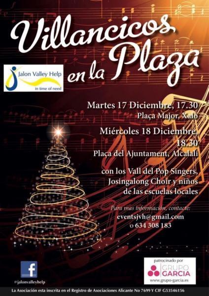 Carols in the Plaga