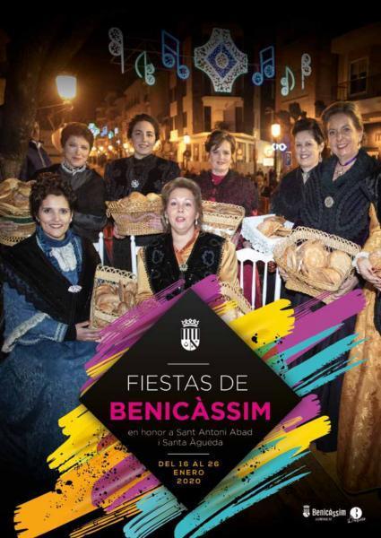 Programa de Fiestas de Sant Antoni i Santa Àgueda de Benicàssim 2020