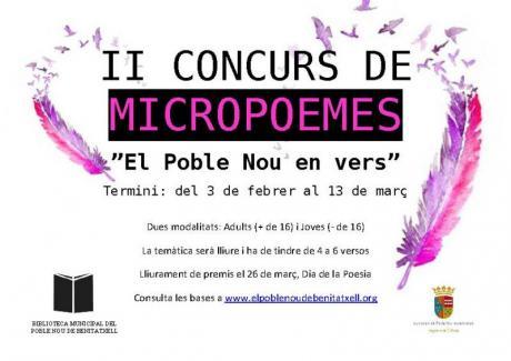 II Concurso de micropoemas