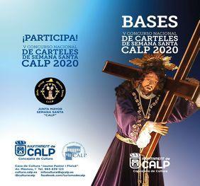 CARTELES DEL V CONCURSO NACIONAL DE CARTELES DE SEMANA SANTA, CALP 2020