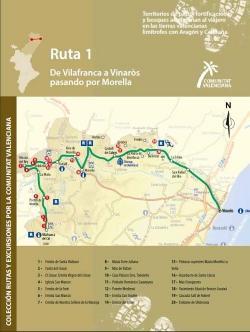 Ruta 1 De Villafranca a Vinaròs por Morella