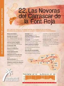 Ruta 22 Las neveras del Carrascar de la Font Roja