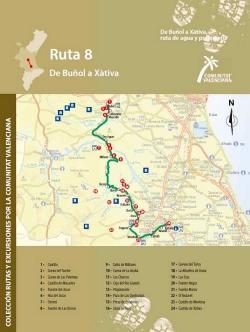 Ruta 8 De Buñol a Xàtiva