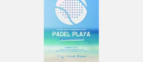 IV Torneo de Pádel Playa- Peñíscola