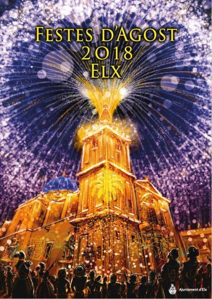 Programme des Fêtes d'Août 2018  à Elx/Elche