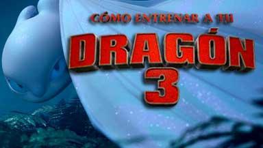 """Cinéma """"Cómo entrenar a tu dragón 3"""""""